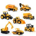 XC1355C 8 types Diecast mini alloy construction vehicle Engineering Car Dump car Dump Truck Model Classic