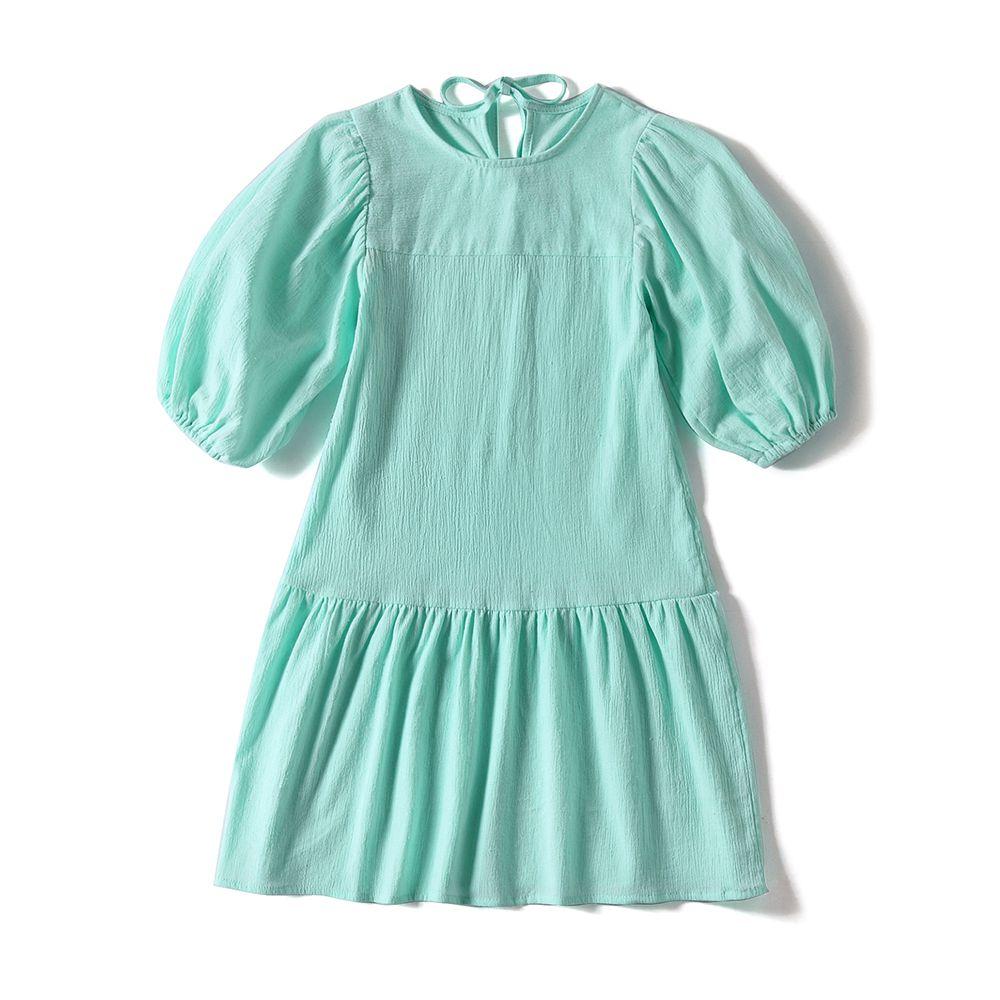 Мечта Колыбель наслаждаясь жизни отдыха 2018 Новое поступление фонарь рукав Ретро длинное платье для девочек-подростков