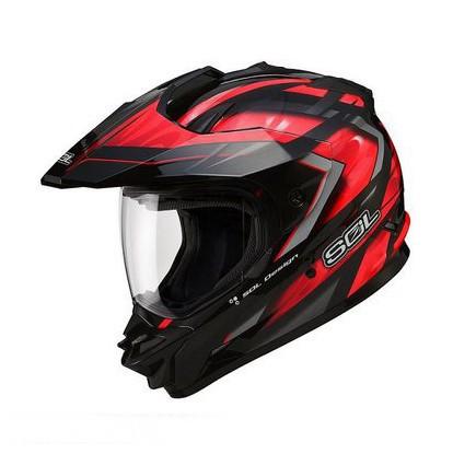 Тайваньская груза SOL подлинный шлем SS-1 предел композитный шлем мотокросс мотоциклетный шлем шоссе запуск каски