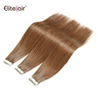 Skin Hair Tape Hair 20 Inch Seamless Skin Weft Tape On Hair Extensions 20 Pieces 50 Grams Straight Brazilian Real Human Hair