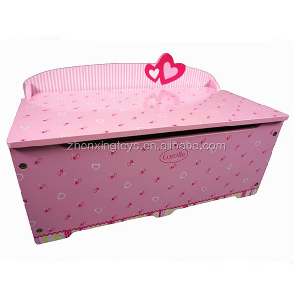 Популярные милые деревянные ящики для хранения в форме сердца для девочек