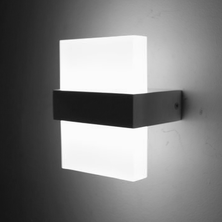 Contemporary Bedroom Wall Lights: Modern 6W LED Wall Light Bedroom Bedside Lamp Luminaria