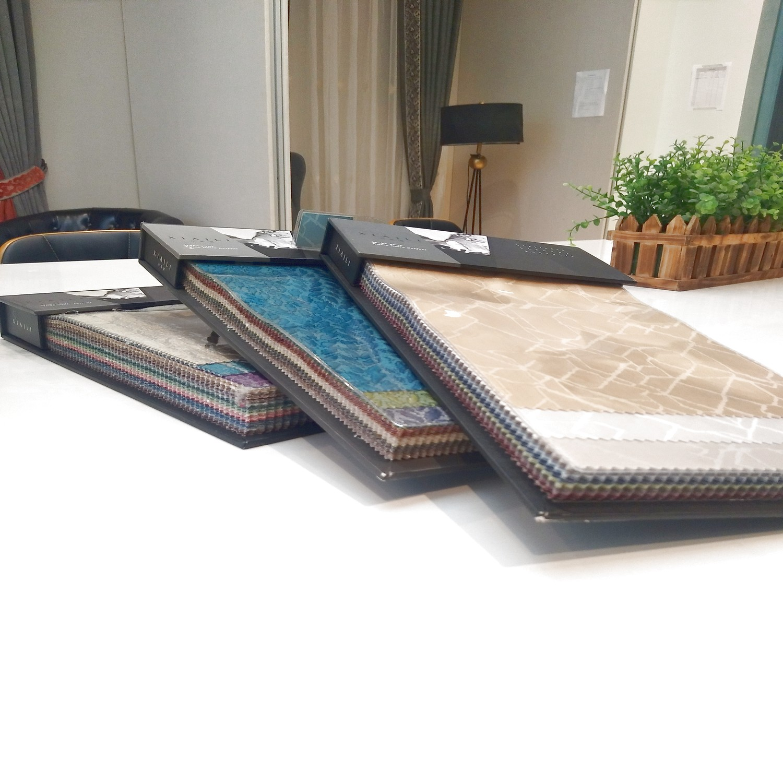 JBL Customer OEM Swatch Wholesale Fabric Sample Book Manufacturer