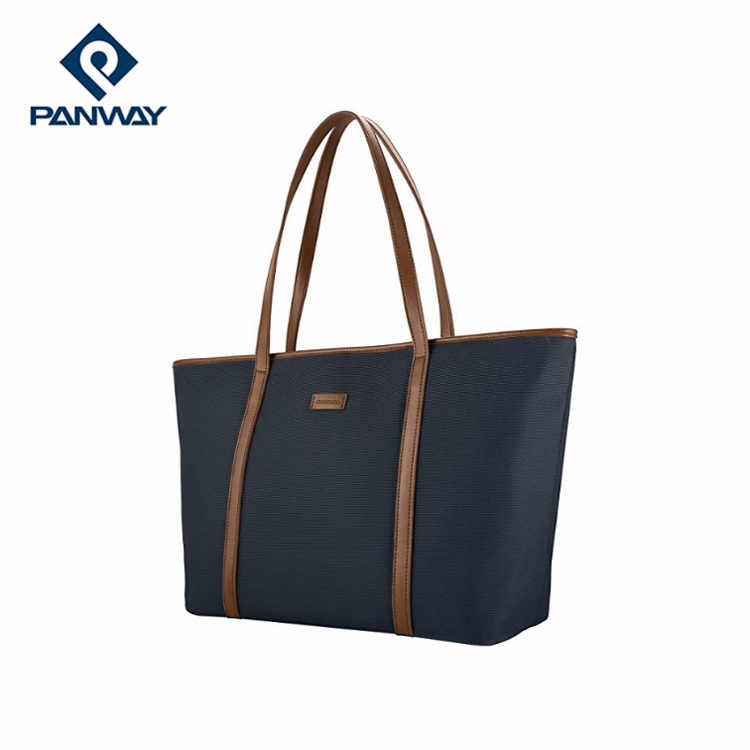 waterproof hand bag nylon shopping bag foldable zipper tote bag
