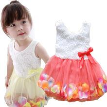 Roztomilé holčičí šatičky v různých barvách z Aliexpress