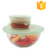 Keep Food 6-Pack of Various Sizes Food Fresh Cover Useful Flexible Silicone Stretch Lids