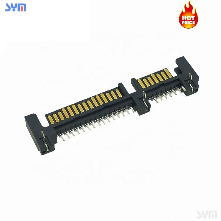 7/15/22Pin SMT DIP PCB SATA Power Socket HDD SATA Connector
