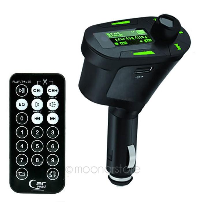 3 цветов жк-экран автомобильный комплект mp3-плеера беспроводной FM передатчик модулятор с USB SD пульт дистанционного управления
