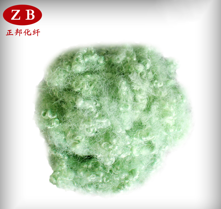 7DX64MM Hollow Conjugated Siliconised Polyester Staple Fiber/HCS 7DX64MM