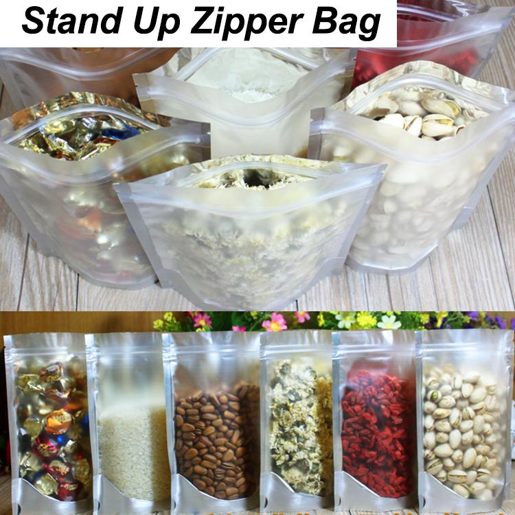 Most Popular Custom Printed Ziplock Zipper Stand Up Pouch Bags, Mylar Food Aluminum Foil Bag*