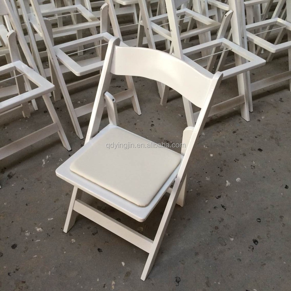 Where Can I Buy Cheap Chairs: Padded Resin Folding Chair For Outdoor Party/wedding Use