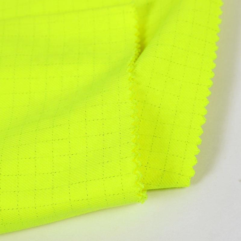 stock !! 250gsm inherent flame retardant modacrylic cotton fabric for arc flash protective work wear