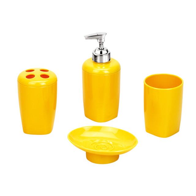 Eco Friendly Plastic Bathroom Accessories Set 4 Piece Bath Accessories Orange Bathroom Set Buy Orange Bathroom Set Plastic Bathroom Accessories Set Bath Accessories Product On Alibaba Com