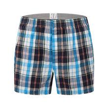 Мужские классические базовые новые высококачественные 100% хлопковые шорты для сна, мужские повседневные свободные штаны, летнее классическ...(Китай)