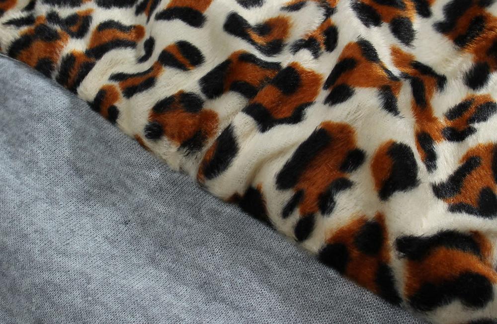 Женский Длинный свитер с капюшоном, Леопардовый свитер большого размера в Корейском стиле для отдыха на осень и зиму