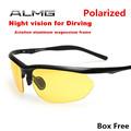 Night Vision Polarized Driving Glasses Anti Glare Vision Brand New Oculos HQ Driver Safety Sunglasses UV