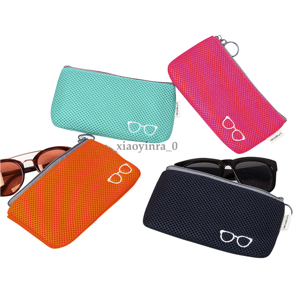 2019 Portable Glasses Case Bag Zipper Eye Glasses Sunglasses Case Pouch  Storage Bags Zip Protector Fashion Soft Eyewear Accessories From Jiguan,