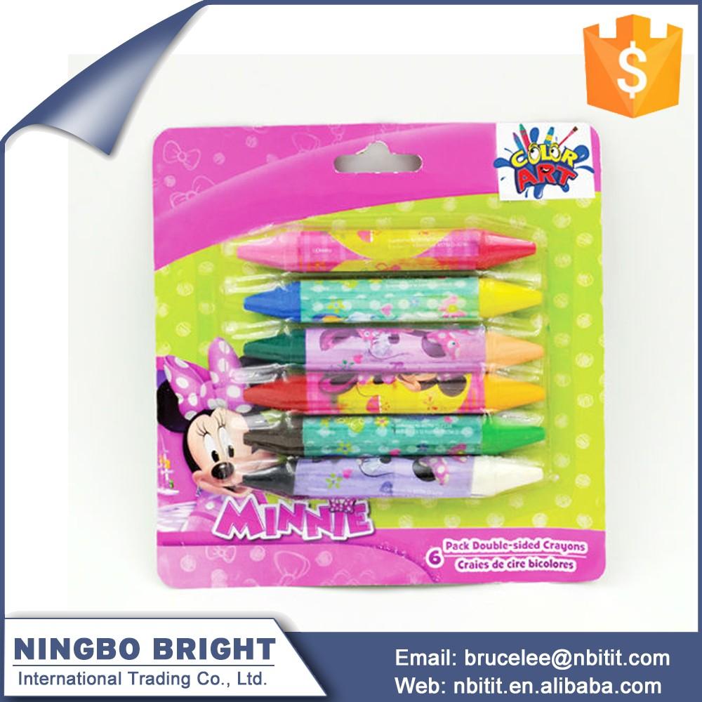 Color Box Set Multi Color Kids Drawing Crayons Cute Multi