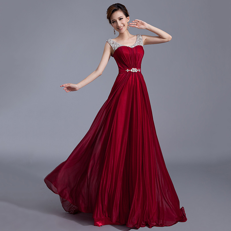 Formal Evening Gowns By Designers: 100% Real Photo Latest Designs Prom Dresses Long Chiffon