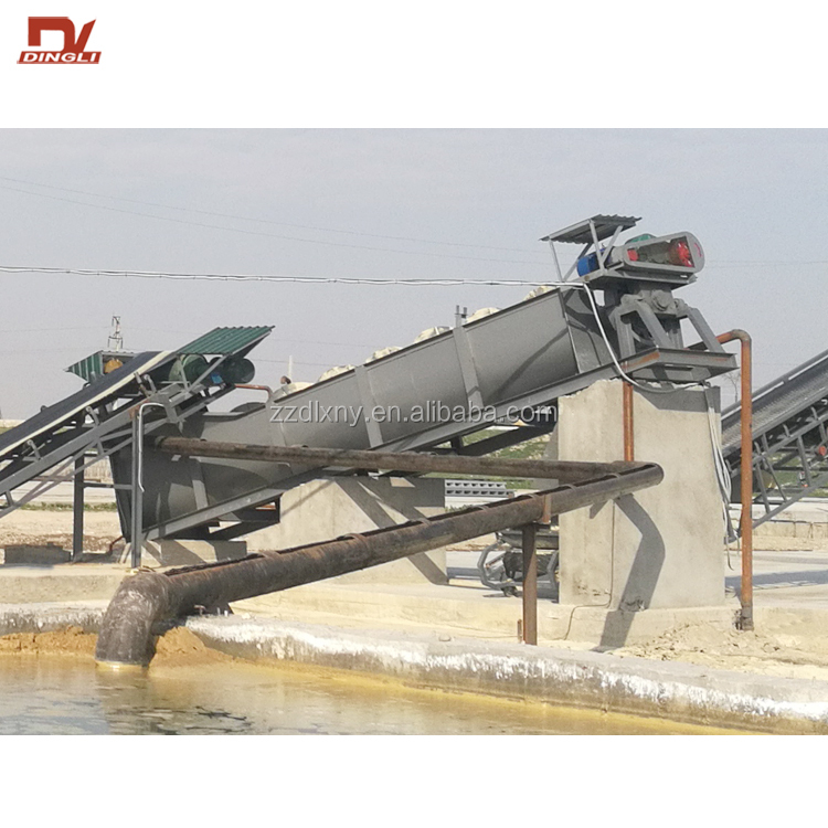 Henan Factory Price Double Screw Sand Washing Machine Sand Washer with CE ISO