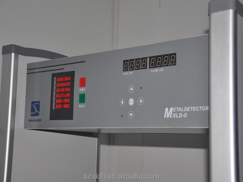 Высокопроизводительный и портативный проходной металлоискатель для обнаружения взрывчатых веществ, оружия в аэропорту