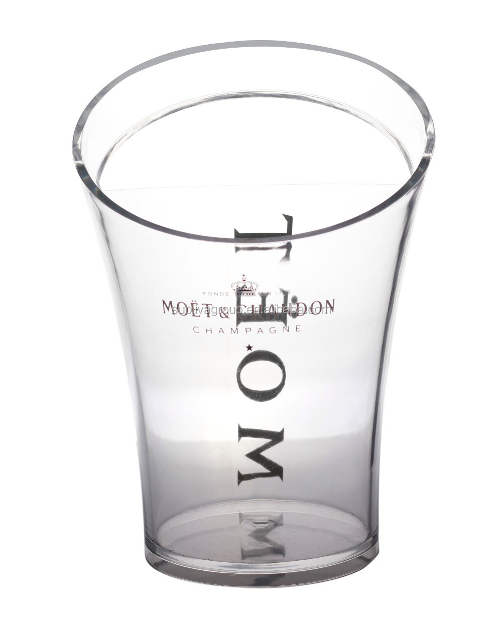 3 5l Slanted Mouth Acrylic Ice Bucket Plastic Wine Cooler Buy Acrylic Ice Bucket Plastic Wine Cooler 3 5l Slanted Mouth Ice Bucket Product On Alibaba Com