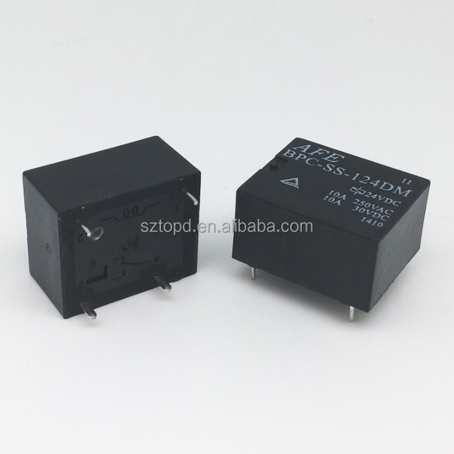 BPD-SS-124DM 24VDC Relay AFE DIP4 New and original 3pcs//lot