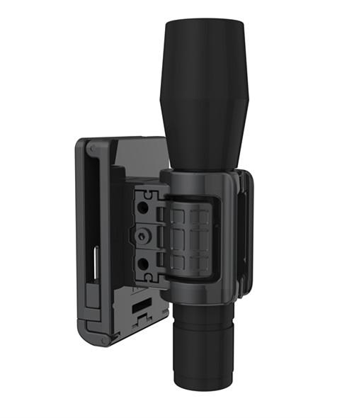 Горячая Распродажа, прочный Регулируемый универсальный держатель для фонарика, тактический военный наружный охотничий полицейский ремень с зажимом, держатель для фонарика