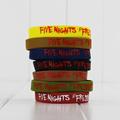 7pcs Lot Five Nights At Freddy s Silicone Bracelet Wrist Straps FNAF Figure Kids Toys Christmas