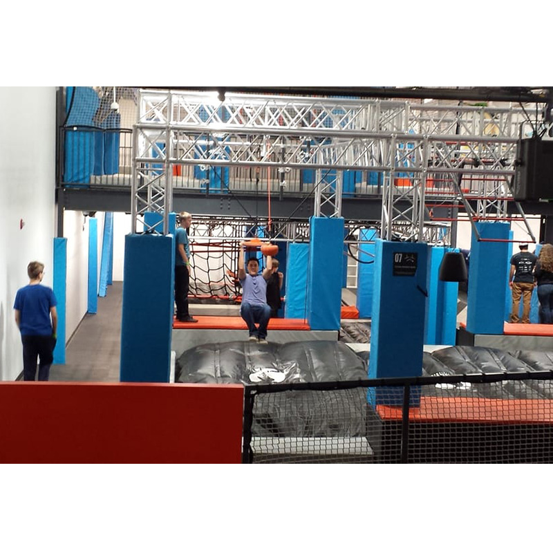 Professional Designer Indoor Outdoor Ninja Warrior Obstacles for Adult and Kids
