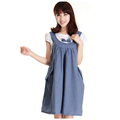 2016 maternity clothes summer cotton casual maternity dress faux two piece maternity clothing BB07