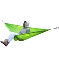 1pc High Quality Portable Lighweight Parachute Cloth Outdoor Survival Camping Double Person Hammock Hanging Bed Travel
