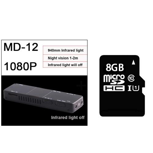 Камера мини ручка Cam 1080P инфракрасный свет ночное видение видеокамера Запись DVR DV Аудио Видео Запись микро 800mah маленький(Китай)