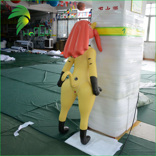 Hongyi Custom Sexy Animal Toys / Air Inflatable Shemale SPH / Inflatable Ladyboy for Men