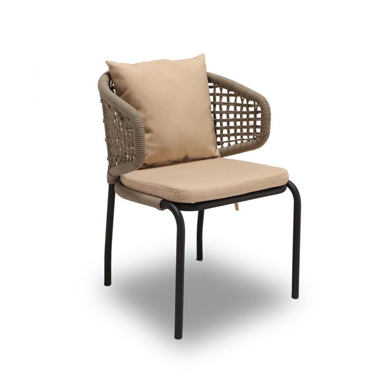 Уличные веревочные стулья, уличная мебель для патио