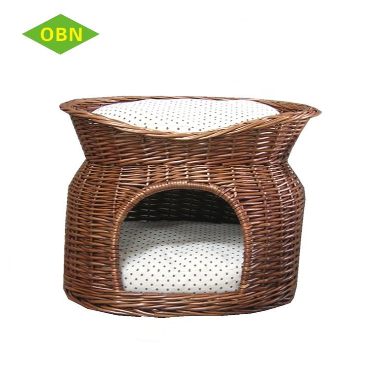 China Custom Nice Quality Beautiful Antique Pet House Wicker Dog Bed Indoor Cat House For Sale Buy Wicker Cat House Indoor Cat House Cat House Product On Alibaba Com