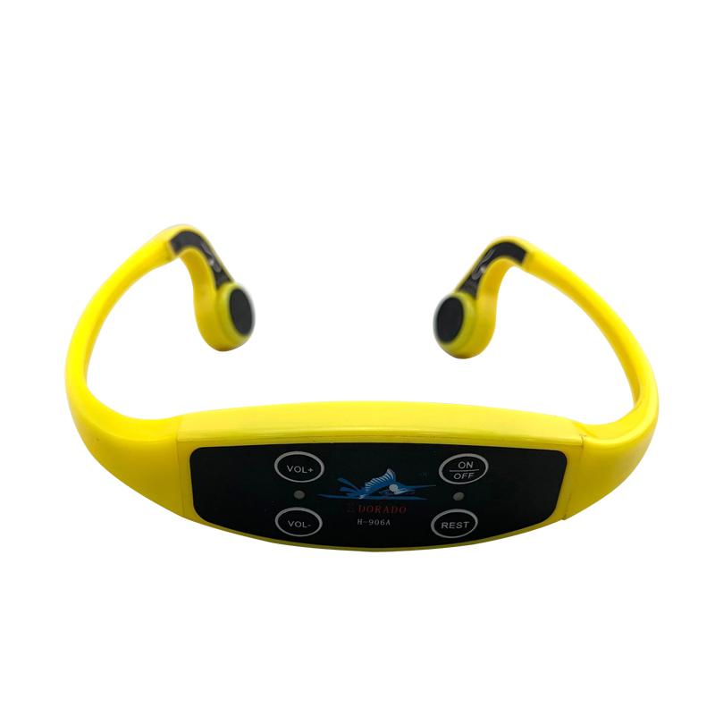 Waterproof Swimming Communication Teaching H-907 Bone Conduction Headphones Receiver - idealBuds Earphone | idealBuds.net