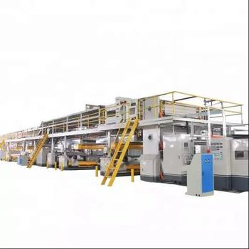 5 ply corrugated cardboard production line/carton packaging line/carton box making machine