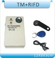 Free shipping 2 in 1 easy using Button copier TM card duplicator 125Khz ID card copier