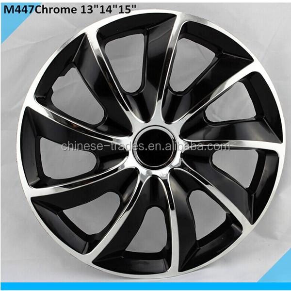 universal plastic car wheel covers car paint color wheels twin color wheel hub dust caps buy