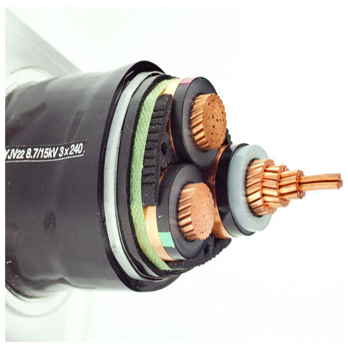 High voltage power cable aluminum alloy conductor competitive price aluminum alloy cables 3*120 mm2