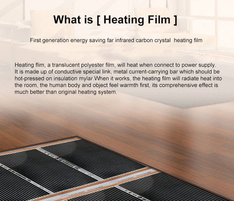 2019 Electric Floor Heating Electric Infrared Film
