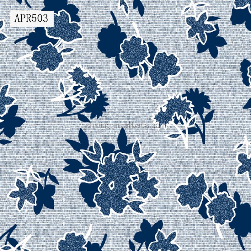 Модная текстильная ткань вискоза, ткань с принтом для женского платья