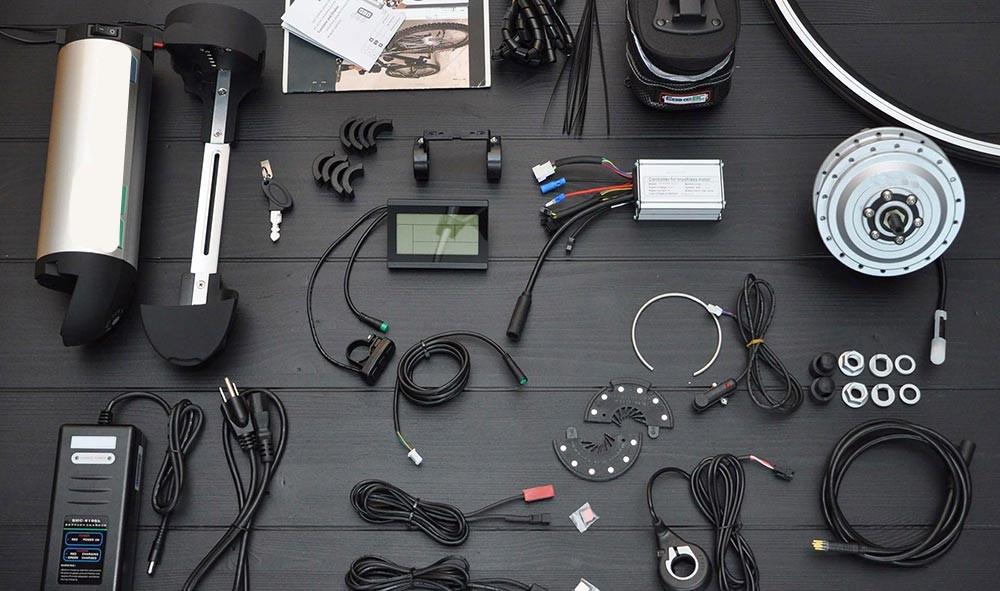 Комплект для электровелосипеда, 48 В, 1000 Вт, заднее моторное колесо KT LCD3, дисплей 20 дюймов, 24 дюйма, 26 дюймов, 27,5 дюйма, 28 дюймов, 29 дюймов 700C