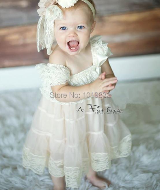 deluxe baby girl lace dress flower girl dresses for weddings infant girl party birthday dress. Black Bedroom Furniture Sets. Home Design Ideas