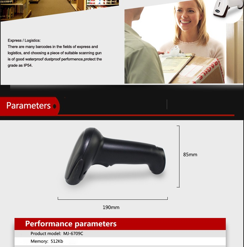 Quality Ccd 1d 2 4ghz Wireless Barcode Scanner For Commercial - Buy Ccd  Barcode Scanner,1d Barcode Scanner,2 4ghz Wireless Barcode Scanner Product  on
