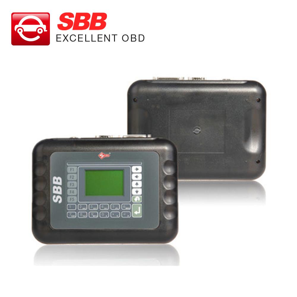 Профессиональный универсальный автоматический ключевой программер многоязычным Silca V33 SBB ключевые программер бесплатная доставка