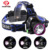 1000 lumens aluminum alloy adjustable waterproof usb rechargeable led headlamp