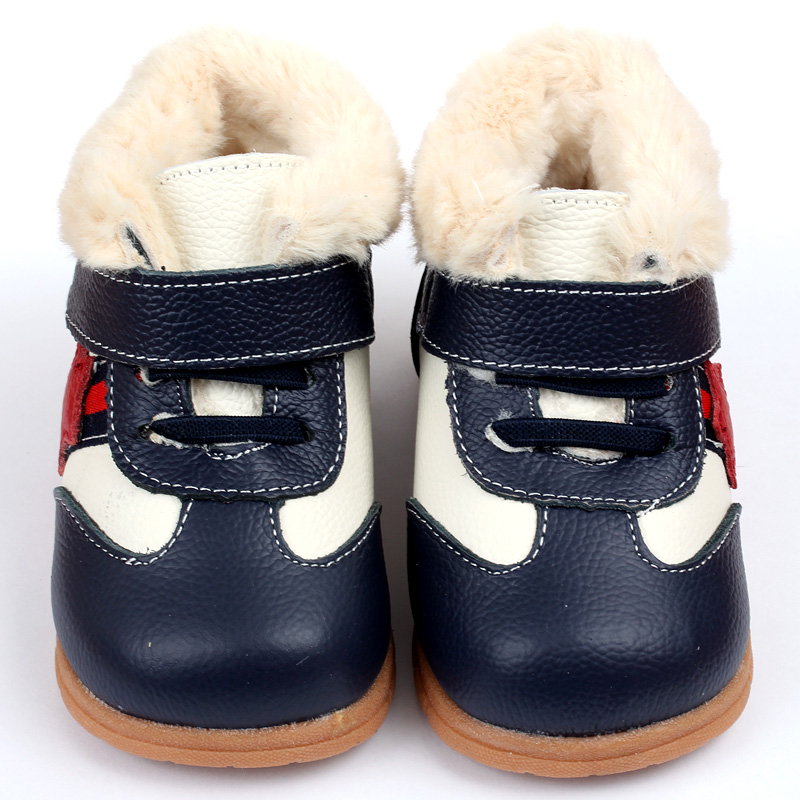 Baby Boots for Girl Snow Boots Leather Baby Shoes Winter