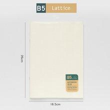 JIANWU A5 B5 креативный простой полипропиленовый чехол, мягкий блокнот, журнал поставок, широкие канцелярские принадлежности для студентов(Китай)